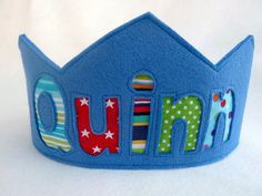 Felt Crown Birthday Crown   Personalized  by FeltLikeCelebrating, $24.00