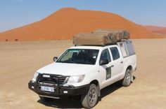 Nissan 4WD double cabin #Namibia #Sossusvlei #selfdrive #africantravels