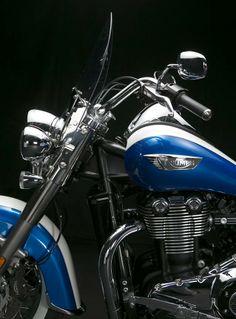 2014 Triumph Thunderbird LT. More info. here: http://triumphmotorcycles.com/bikes/thunderbird/2014/thunderbird-lt