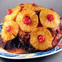 Bourbon-Glazed Ham Allrecipes.com