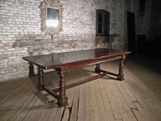 Large Italian Baroque dining table image 8