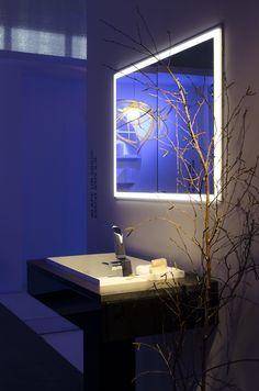 Alape és by Caracalla Design Days 2016 Bathroom Lighting, Designers, Mirror, Furniture, Home Decor, Bathroom Light Fittings, Bathroom Vanity Lighting, Decoration Home
