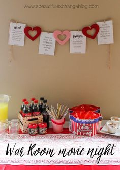 youth group valentine's day dinner