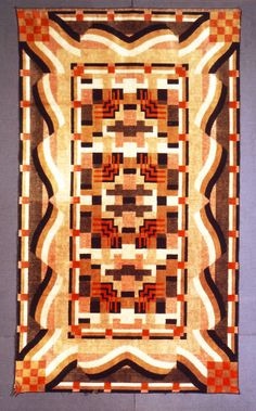 Art Deco Navajo Dakota wandkleed / tapestry.