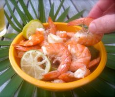 Shrimp boiled in beer.Delicious,very easy and quick recipe.