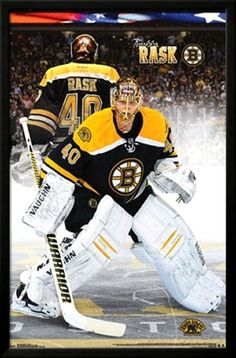 e9acbc7c31 Tuukka Rask Boston Bruins NHL Sports Poster Lord Stanley Cup
