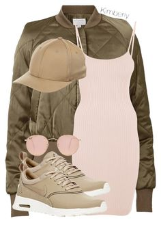 """""""Untitled #1848"""" by whokd ❤ liked on Polyvore featuring Witchery, NIKE, Flexfit and Ray-Ban #mallchick #fashi"""