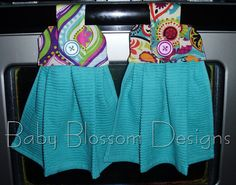 Custom Hanging Kitchen Towel by TheRubyJewelBoutique on Etsy, $8.50