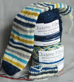 day 25 of 25daysofenabling hanukkah stripes by quarerefibre on etsy need - Coloring Book Yarns