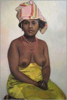 Félix Vallotton (Suisse, 1865-1925) > L'Africaine