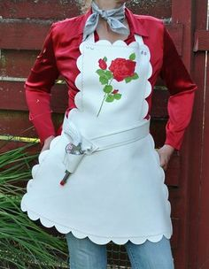 site with apron photo galleries - this one is Rhinestone Cowboy Apron