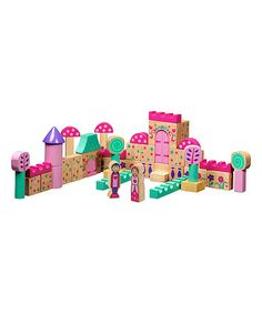 Look what I found on #zulily! Fairy Tale Building Block Set #zulilyfinds