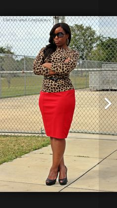 d1e85d0c68 Red leopard Curves And Confidence, Red Leopard, Miami Fashion, Miami Style,  My