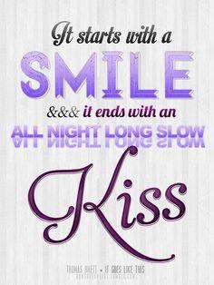 #smile #kiss