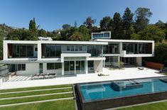 Sunset Plaza Mansion Los Angeles #BIGArchitects Pinned by www.modlar.com