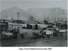 Vintage Historical Cape Town photos - old pictures of Cape Town Costa Rica, Cities In Africa, Cape Colony, V&a Waterfront, Destinations, Cape Town South Africa, Most Beautiful Cities, African History, Old Pictures