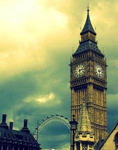 big ben london eye picture