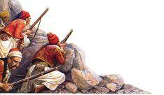 Η Μάχη του Βαλτετσίου – 1821: Το άνθος της Λευτεριάς Greek History, Greece, War, Painting, Greece Country, Painting Art, Paintings, Painted Canvas, Drawings