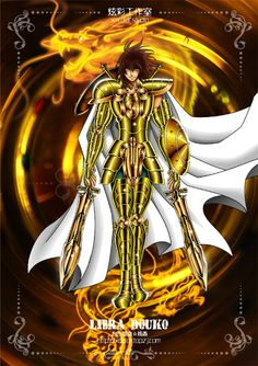 Saint Seiya - The Lost Canvas - Libra Dohko