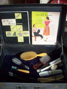 Fuller Brush Salesman Kit