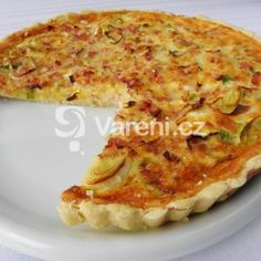Fotografie receptu: Sýrový koláč se šunkou Quiche, Macaroni And Cheese, Food And Drink, Pizza, Cooking, Breakfast, Ethnic Recipes, Kitchen, Morning Coffee