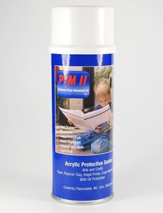 Read about PYM II polymer clay spray sealer and find out how to use it to seal alcohol inks, mica powder, pearl-ex, and chalk pastels.