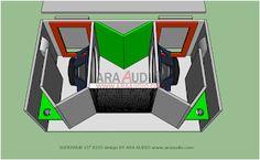 15 Inch Subwoofer Box, Subwoofer Speaker, Audio Amplifier, Speakers, Speaker Box Design, Planer, 3d, Klipsch Speakers, Woodworking Projects