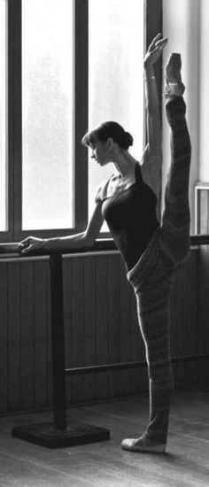 The way dancers make everything look effortless.