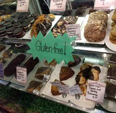 Have you checked out our gluten free goodies lately? Cookies, brownies, cowgirl squares and so much more!