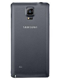 "Samsung Galaxy Note 4 - Smartphone libre Android (pantalla 5.7"", cámara 16 Mp, 32 GB, Quad-Core 2.7 GHz, 3 GB RAM), negro (importado)"