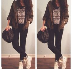 Clothes Casual Outift for • teens • movies • girls • women •. summer • fall •…