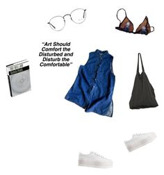 """""""Simple"""" by nicolebarbosa ❤ liked on Polyvore featuring Ray-Ban, Laneus, Jeffrey Campbell, women's clothing, women's fashion, women, female, woman, misses and juniors"""