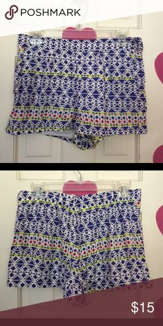 NWT Shorts Adorable shorts. NWT size Xtra large. Brand: Kirra. Length: 12 inches. Waist stretches to 34 inches. Kirra Shorts