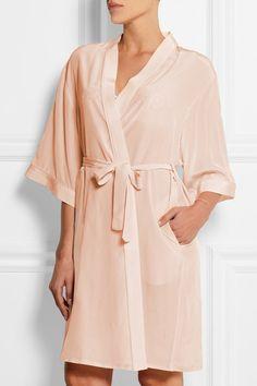 Mimi Holliday by Damaris | Puffin silk crepe de chine robe | NET-A-PORTER.COM