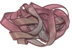 Sassy Silks Hand Painted/Dyed Ribbons Fascination by sassysilks21, $3.50
