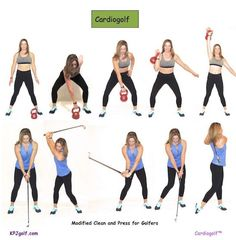 Cardiogolf-Total Body Exercise for Golf | KPJ Golf