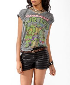 teenage mutant ninja turtles shirt!!