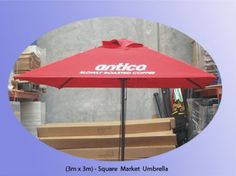 Cafe Umbrella>> 3mx3m Square Commercial Market Umbrella | Miscellaneous Goods | Gumtree Australia Whitehorse Area - Burwood | 1055082222