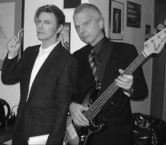 David Bowie & Tony Visconti.