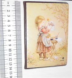 HOLLY HOBBIE fake 80s Spain photo frame wallet - porta fotografie tascabile