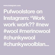"Pufwoolstore on Instagram: ""Work work work✅👊 #new #wool #merinowool #chunkywool #chunkywoolblanket #chunkymerinowool #handmade #ivorycolor #homeideas #pufwoolstore…"" Chunky Wool, Wool Blanket, Merino Wool, Instagram Posts, Handmade, Hand Made, Craft"