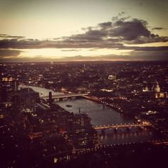 View from the Shard, love seeing the varied urban landscape of this vibrant river city #theshardlondon #urban #planningconsultants #planning #throwbackthursday #london #urbandesign