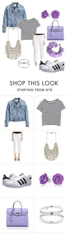 """Untitled #32"" by subhanaenayat ❤ liked on Polyvore featuring H&M, Enza Costa, Joe's Jeans, adidas Originals, Bling Jewelry, fashionhoroscope and stylehoroscope"