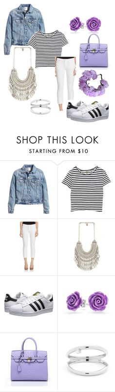 """Untitled #32"" by subhanaenayat ❤ liked on Polyvore featuring H&M, Enza Costa, Joe's Jeans, adidas Originals, Bling Jewelry, fashionhoroscope and stylehoroscope"