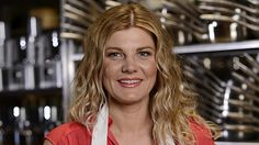 Tracy Collins from Masterchef Australia - great strawberry blonde hair
