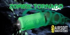 Tornado Grenade Impact Zombie Green (Airsoft Innovations) Airsoft, Get One, Innovation, Banner, Grenades, Neon Signs, Green, Tactical Gear, Banner Stands