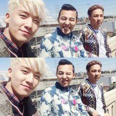 BIGBANG - Seungri, GD, Taeyang