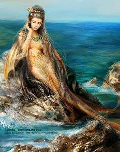 Mermaid Siren Fantasy Myth Mythical Mystical Legend Coloring pages colouring… Fantasy Mermaids, Mermaids And Mermen, Mermaids Exist, Real Mermaids, Magical Creatures, Sea Creatures, Merfolk, Mythological Creatures, The Little Mermaid
