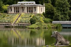 Grade One listed Folly Gardens at The Temple, Stancombe, Cotswolds, Gloucestershire Brideshead Revisited, Stay Overnight, Wander, Britain, England, Cottage, Explore, Mansions, Landscape