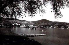 Arkada çıplak tepesiyle Gözdağı,onun ardında Aydos- 1950'li Yıllar